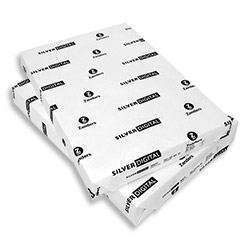 Silver Digital Gloss Coated Paper FSC 320x460mm (SRA3+) 130gsm - Pack 500 Sheets