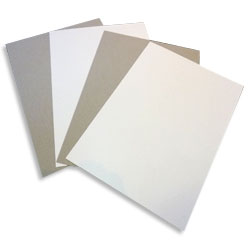 Eska One Sided White Lined Greyboard cut to 715x507mm 785gsm / 1200 microns - 240 Sheets