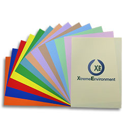 XE Waterproof Laser Paper Pastel Blue SRA3 130 micron (170gsm)  - Box 100 sheets